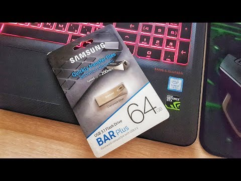 Флешка Samsung BAR Plus 64GB USB 3.1 Flash Drive