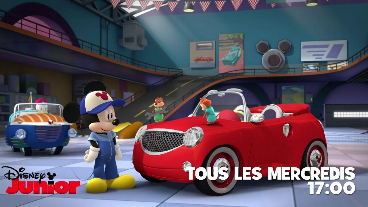 Mickey et ses amis top d part le garage de mickey - Amis de mickey ...