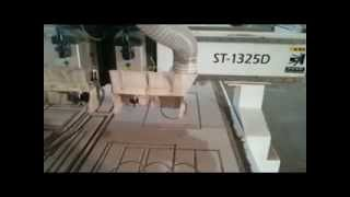 High Speed Cnc Router Cutting Kitchen Cabinet
