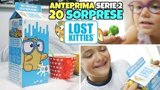 Nuovi LOST KITTIES in 1 LITRO DI LATTE: 20 SORPRESE con Serie 2