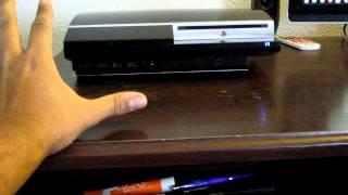 PS3 80GB fan noise & solution