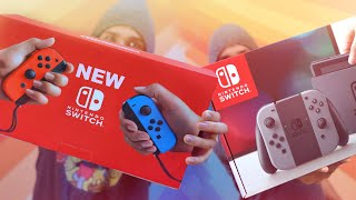 NEW Nintendo Switch unboxing!