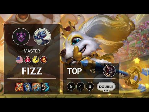 Fizz Top vs Darius - NA Master Patch 10.13