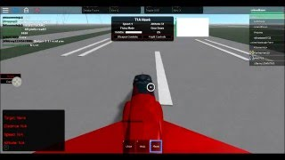 Flight Training at Columbus AFB (Roblox)