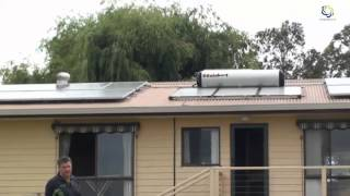 EGS  4 5KW SOLAR WITH 18 PANELS and SOLAHART HOTWATER