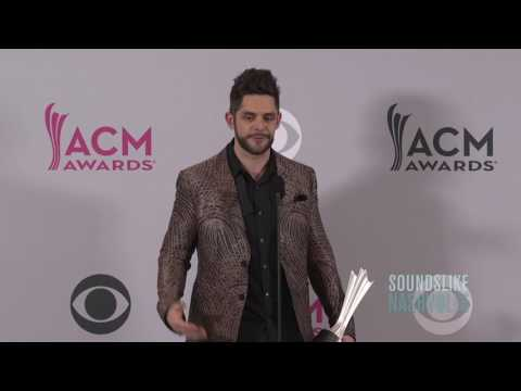Thomas Rhett Shocked Over ACM Male & Song of the Year Wins