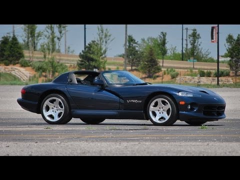 Dodge Viper RT/10--Carsource USA Test Drive with Chris Moran