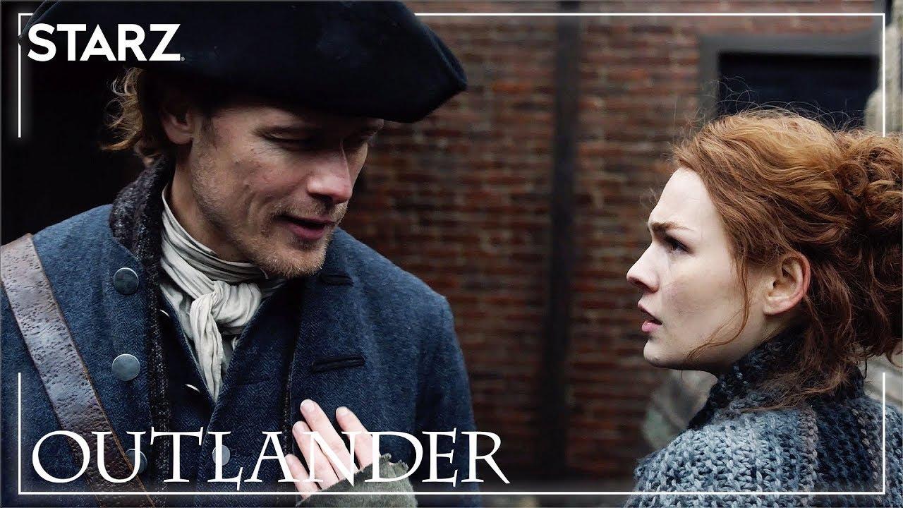 Download Outlander   Jamie and Brianna Meet   STARZ