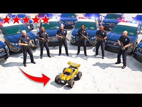 RC CAR VS *5 STAR* Wanted Level In GTA 5! thumbnail
