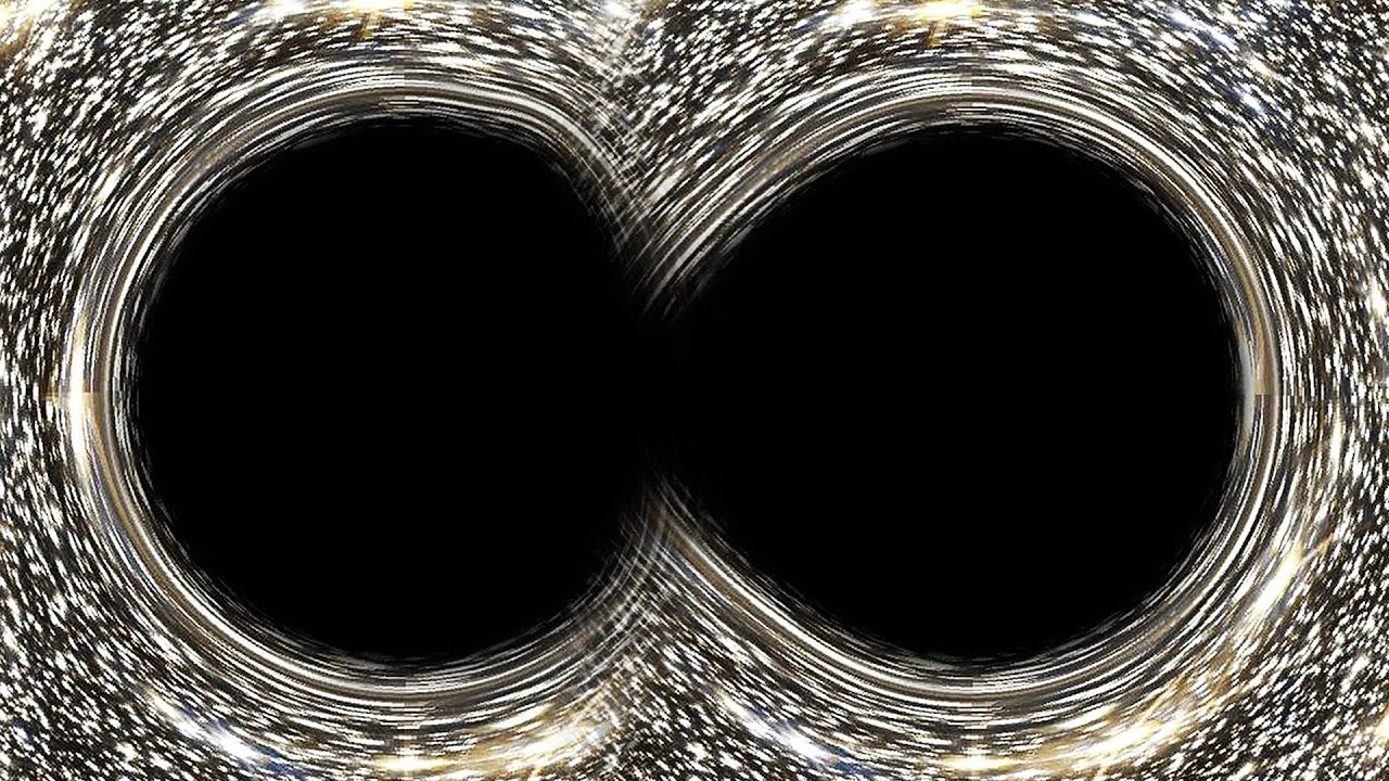 two black holes collide - photo #6
