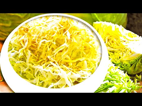 Delicious! Healthy Coleslaw - Balsamic Vinegar Coleslaw Recipe For Cabbage Salad Without Mayonnaise!