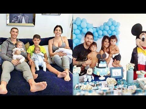 Cristiano Ronaldo'nun Ailesi VS Lionel Messi'nin Ailesi VS Muhammed SALAH'ın Ailesi - 2018