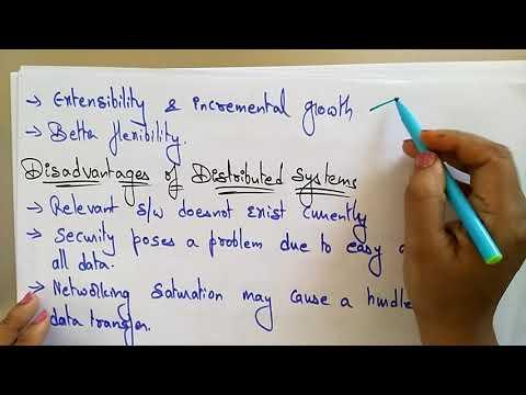 Distributed Systems | Advantage, Disadv & Issues | Lec-6 | Bhanu Priya