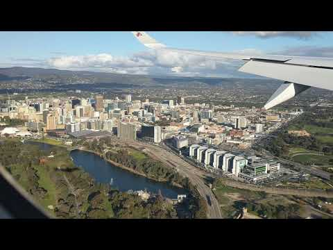 Landing At Adelaide Airport (ADL) July 2019
