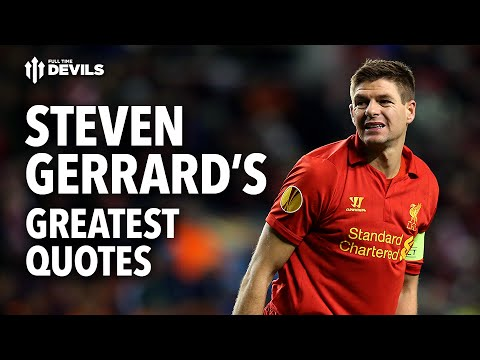 Soccer Wallpaper Messi Quotes Steven Gerrard S Greatest Quotes A Manchester United