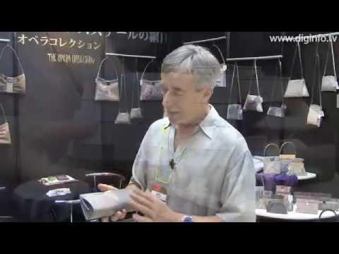 Stainless Steel Mesh Handbags from Bo's Art Studio  : DigInfo