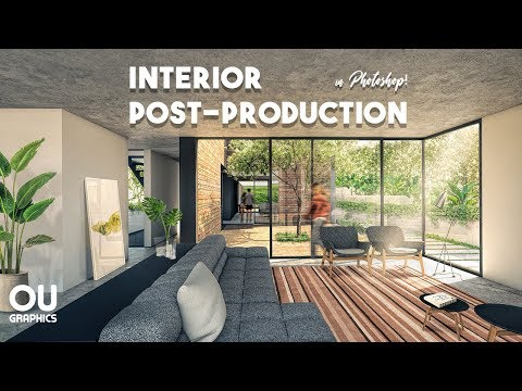 Interior Architecture Post-production in Photoshop