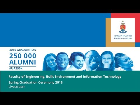 University of Pretoria 2016 Spring Graduation Ceremony HD Livestream