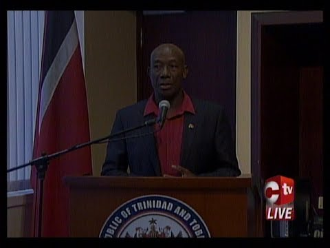 Prime Minister Dr. Keith Rowley's Press Conference After Off