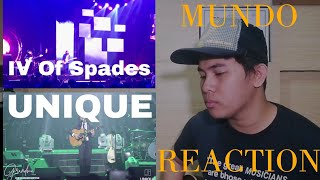 Musician Reacts To: Mundo by Unique and IV Of Spades