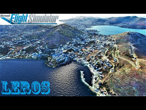 Microsoft Flight Simulator 2020 - Leros - Greece #part25
