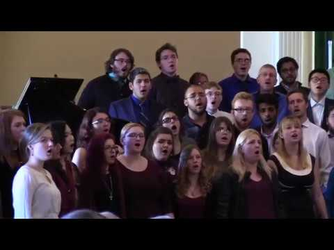 The Benediction - Lycoming College Choir - Nov. 13, 2016