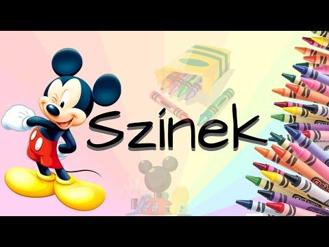Mickey egér játszótere | Színek mese magyarul letöltés