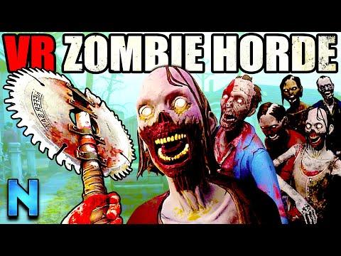 End-Game HORDE CHALLENGE in Walking Dead VR!