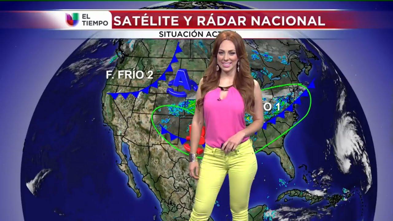 Prissila S 225 Nchez Clima 10 10 2014 Univision San Antonio