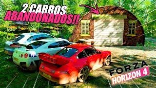 ACHEI 2 CARROS ABANDONADOS!! SÓ OS TOP!! - FORZA HORIZON 4
