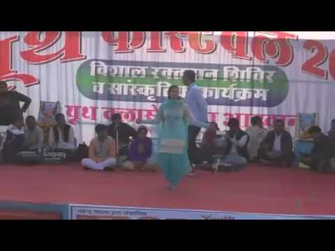 Sapna Ki Zero Figure Sapna Chaudhary Hot Dance 2017