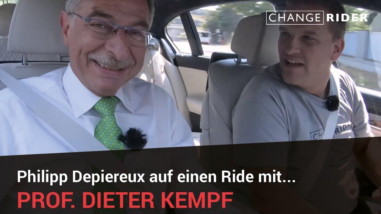 ChangeRider #9 BDI Präsident Dieter Kempf: Die deutsche Industrie im Zeitalter der digitalen Transformation