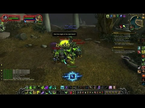 World of Warcraft Unchecked Power Broken Shore Legion World Quest Guide