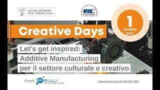 Creative Days   01.10.2021 Let's get inspired: AM per il settore culturale e creativo