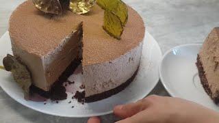 Чизкейк шоколадный без выпечки