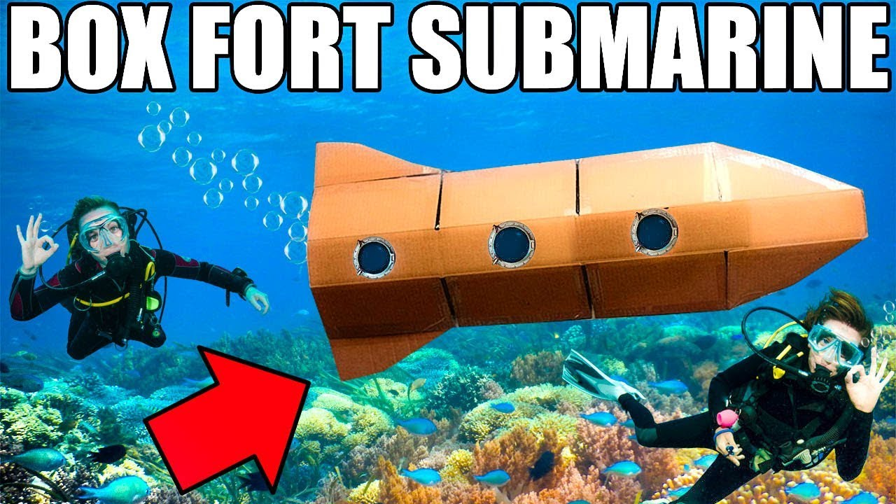 24-hour-box-fort-submarine-challenge-scuba-tanks-onboard-oxygen-more