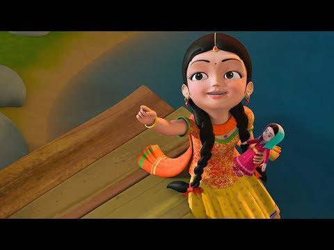Aata gache tota pakhi  | Bengali Rhymes for Children | Infobells