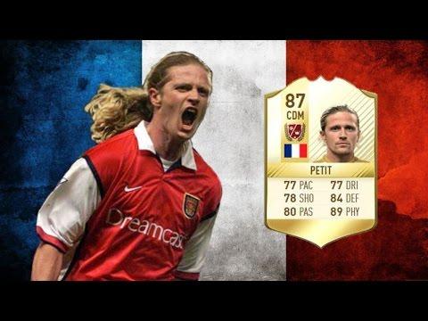 FIFA 17 - Emmanuel Petit - Legend Review