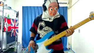 IRON MAIDEN 22 ACACIA AVENUE BASS COVER