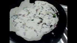 Srirangam Radhu Onion Rava Roast