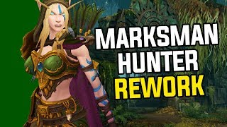 Marksmanship Hunter Rework Gameplay in Battle For Azeroth - Complete Walkthrough
