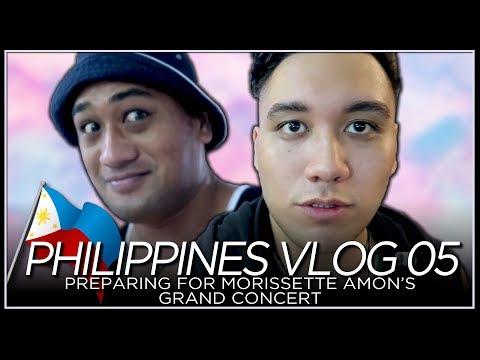 Preparing for Morissette Amon's Grand Concert - PHILIPPINES VLOG 05 [2018]