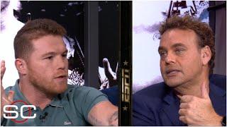'No soy mam... soy serio. Tú no sabes de boxeo' Saúl Canelo Álvarez a David Faitelson | SportsCenter