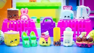 SHOPKINS SEASON 2 - 12 Packs Unboxing with Baby and Ultra Rare Shopkins!