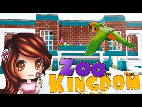 Zoo University 🐾🐦  | Zoo Kingdom | Ep. 2 [Modded Minecraft 1.12.2]