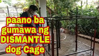 HOW I BUILT THIS BIG STEEL DOG CAGE