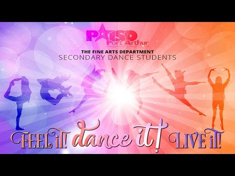 Feel it! Dance it! Live it! - Secondary Dance Students Spring Showcase