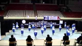 Kırklareli Anadolu Lisesi Halk Oyunları G.S.K. Türkiye 1.