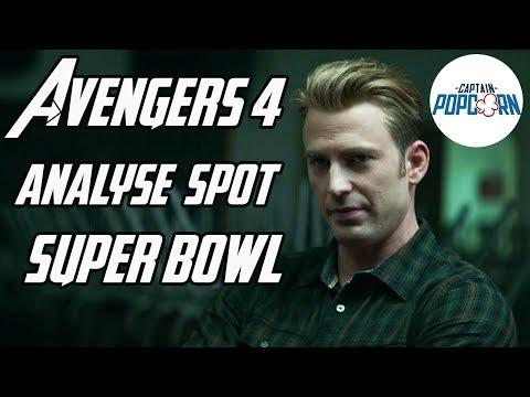 Avengers 4 Endgame : analyse du spot Super Bowl