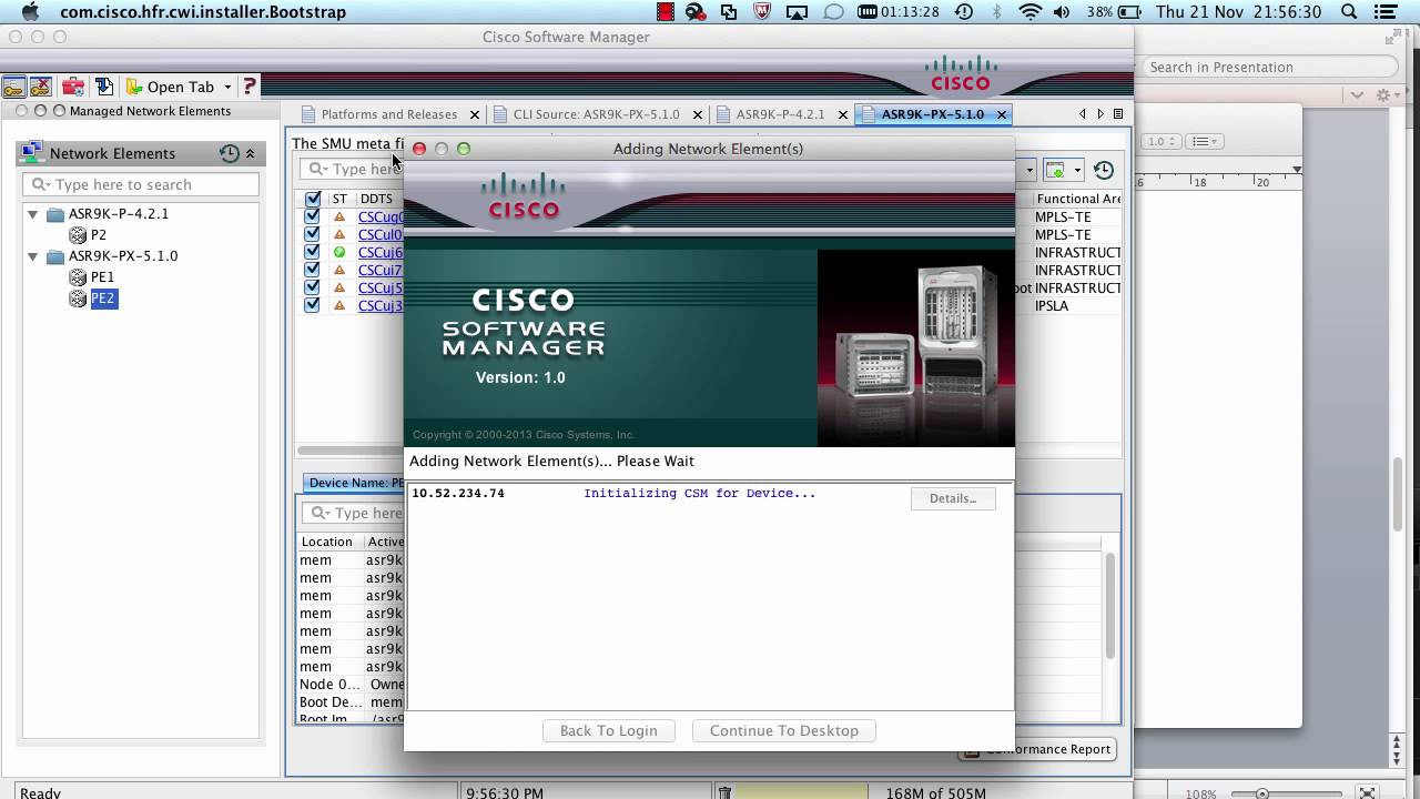 Software Research - Cisco Systems